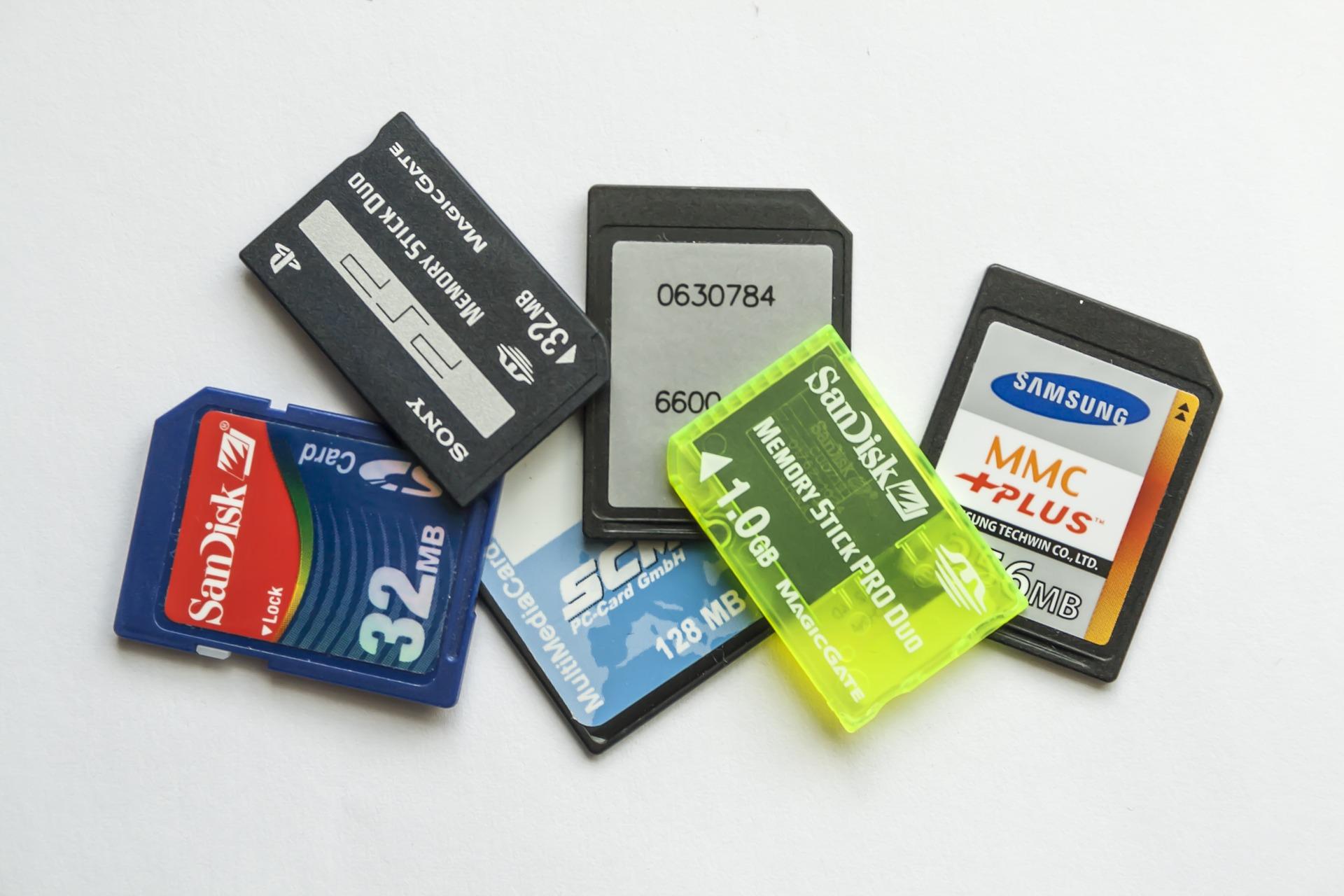 Le caratteristiche principali di una scheda SD.